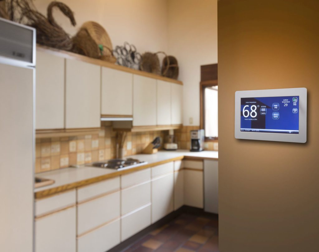 35008922 - programmable thermostat for temperature control in kitchen